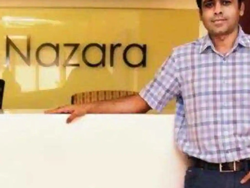 Nazara Technologies raised Rs100 Cr through Hornbill Capital