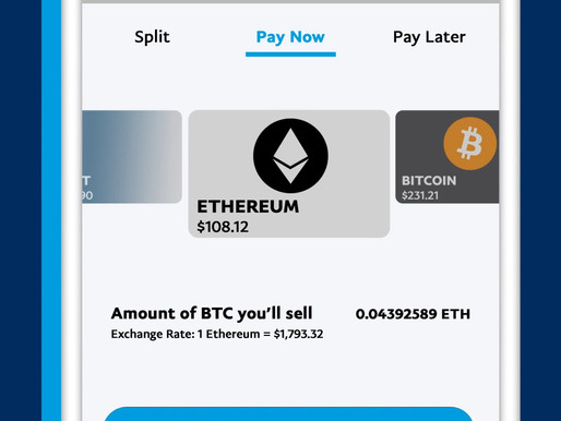 PayPal to allow US users to pay with Bitcoin, Ethereum and Litecoin