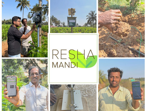 Agritech startup ReshaMandi raised $1.7 mn in seed round led by Omnivore and Strive Ventures