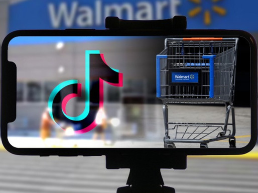 Walmart tied up with TikTok to host a livestream shopping feature