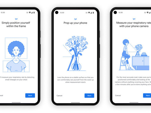 Google feature to allow measuring heart rate, respiratory rate through cell phones