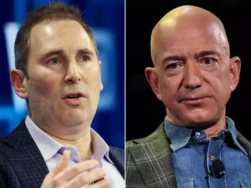 Jeff Bezos to step down as Amazon CEO; AWS chief Andy Jassy will take over