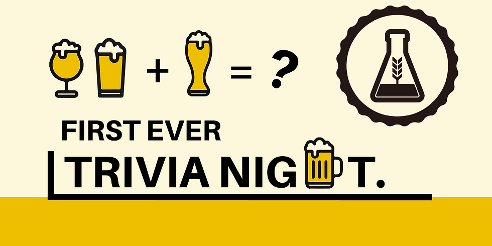 Monash BrewLab Trivial Night 1