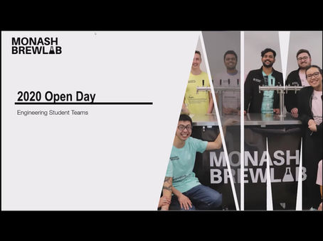 2020 Open Day - Monash BrewLab