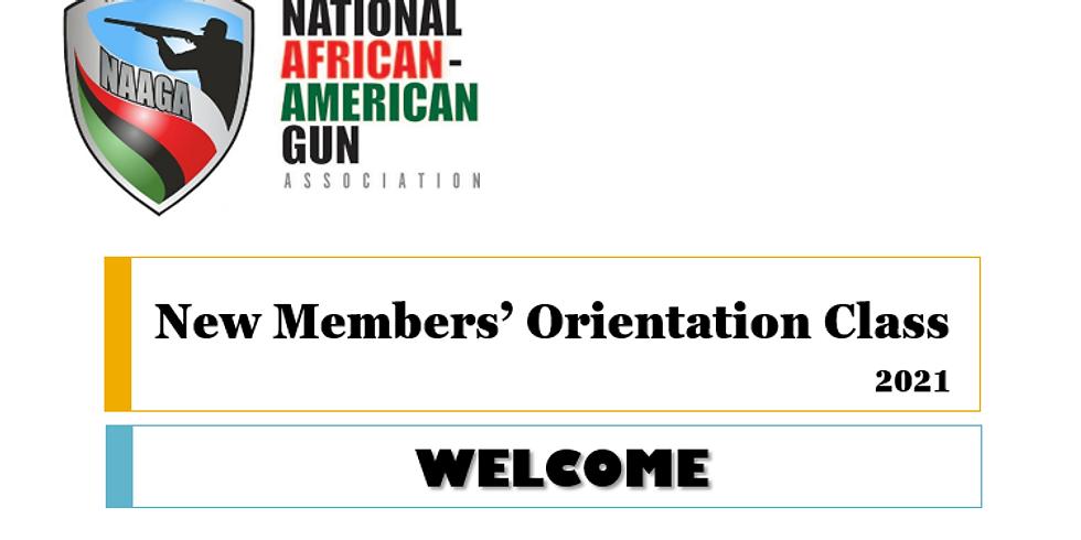 JULY 2021 - VIRTUAL NEW MEMBER ORIENTATION CLASS (NMOC)