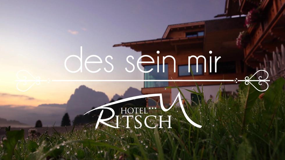 """""""des sein mir"""" - Hotel Ritsch"""