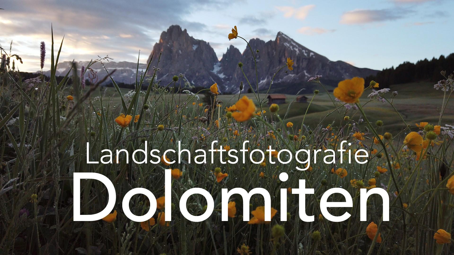 So lebt es sich als Landschaftsfotograf in den Dolomiten