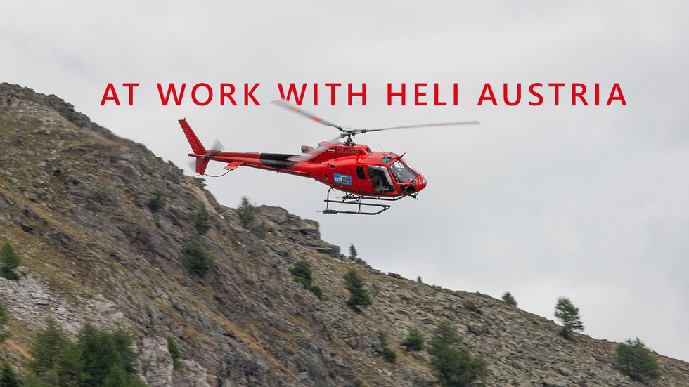AT WORK WITH HELI AUSTRIA