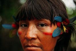 Obras de artistas Yanomami são exibidas em Xangai, na China