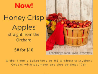 It's Honey Crisp Time!!