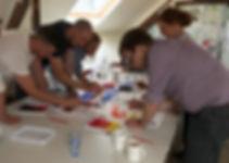 Team building art exercise