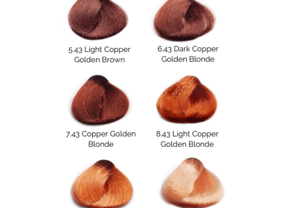 BES HiFi Golden-Copper Permanent Hair Color