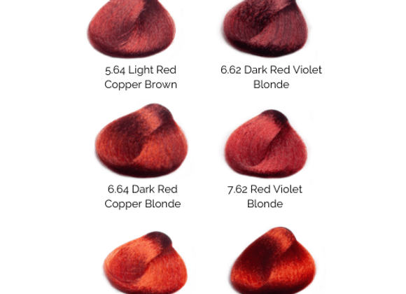 BES HiFi Reds II Permanent Hair Color