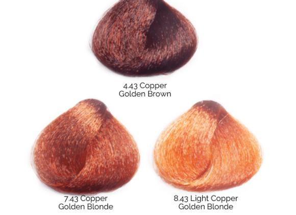 BES Copper Golden Regal Soft Color