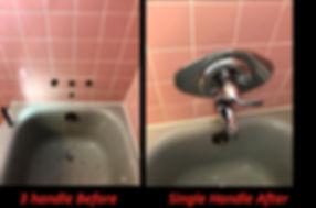 Faucet replaced berkley mi