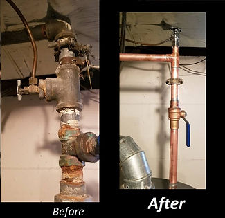 Pipe replacement berkley mi
