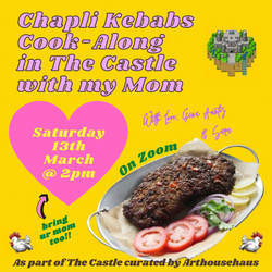 Chapli Kebab Cook-Along in The Castle with my Mom