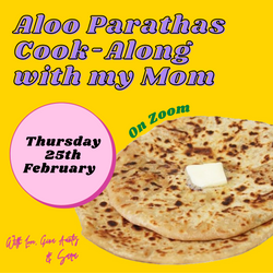 Aloo Parathas Cook-Along with my Mom