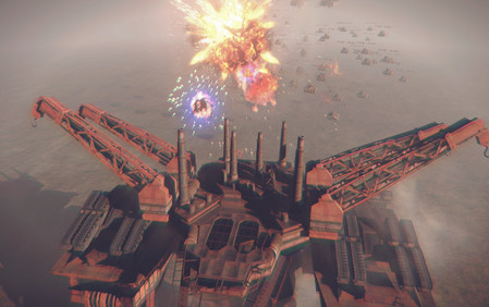 NieR Automata Combats Explosion
