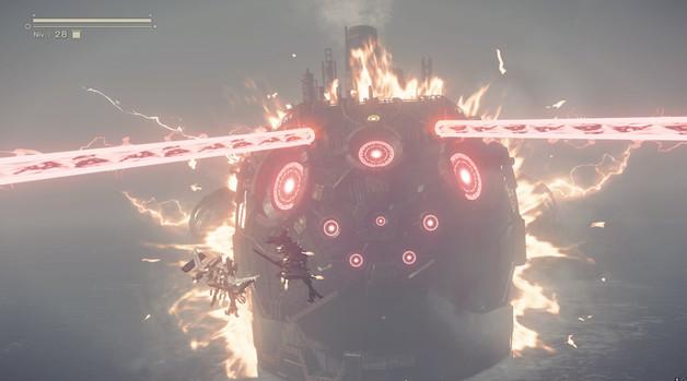 NieR Automata Boss Big Shmup