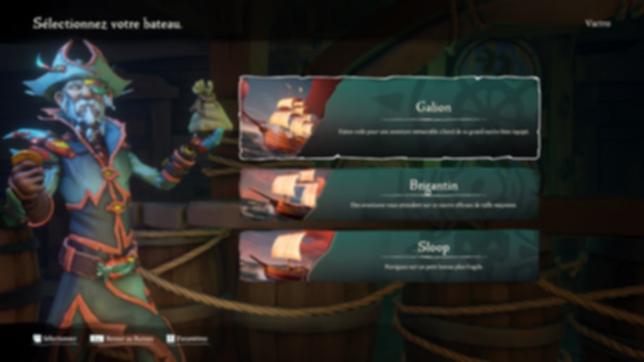 Sea of Thieves ship screen