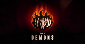 Je viens de finir - Book of Demons