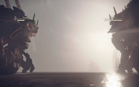 NieR Automata duel robot combat