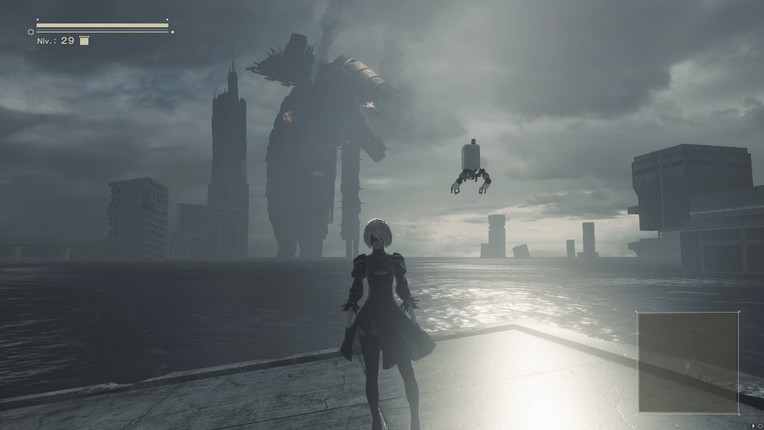NieR Automata Post Apo