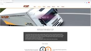 Thiết kế website ESP-Cargo