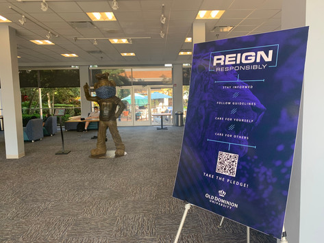 ODU prepares campus for students returning amid COVID-19