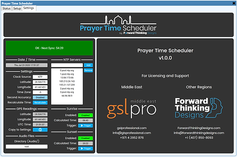 Prayer Time Scheduler - Settings.PNG