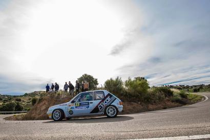 Rallye Madrid-Talavera 2021_#23 Andrea Fernandez Alfaro - Raquel Salvador Lopez - Peugeot 205 Rallye, Copa Pirelli Rally Centro