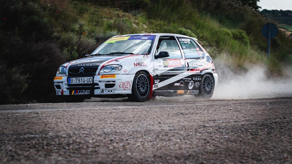 XXII Rallye Ciudad de Valladolid_#36 Francisco Lara Paris - Mario J. Lara Lucas - Citroën Saxo Vts, Copa Pirelli Rally Centro.jpg
