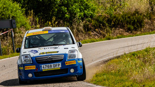 Domenech gana la 1º prueba de la Copa Pirelli Rally Centro