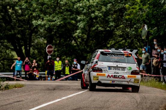 Rallye Madrid-Talavera 2021_#24 Francisco Lara Paris - Mario J. Lara Lucas - Citroën Saxo Vts, Copa Pirelli Rally Centro