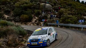 Doménech gana en un duro Rallye Diputación de Ávila