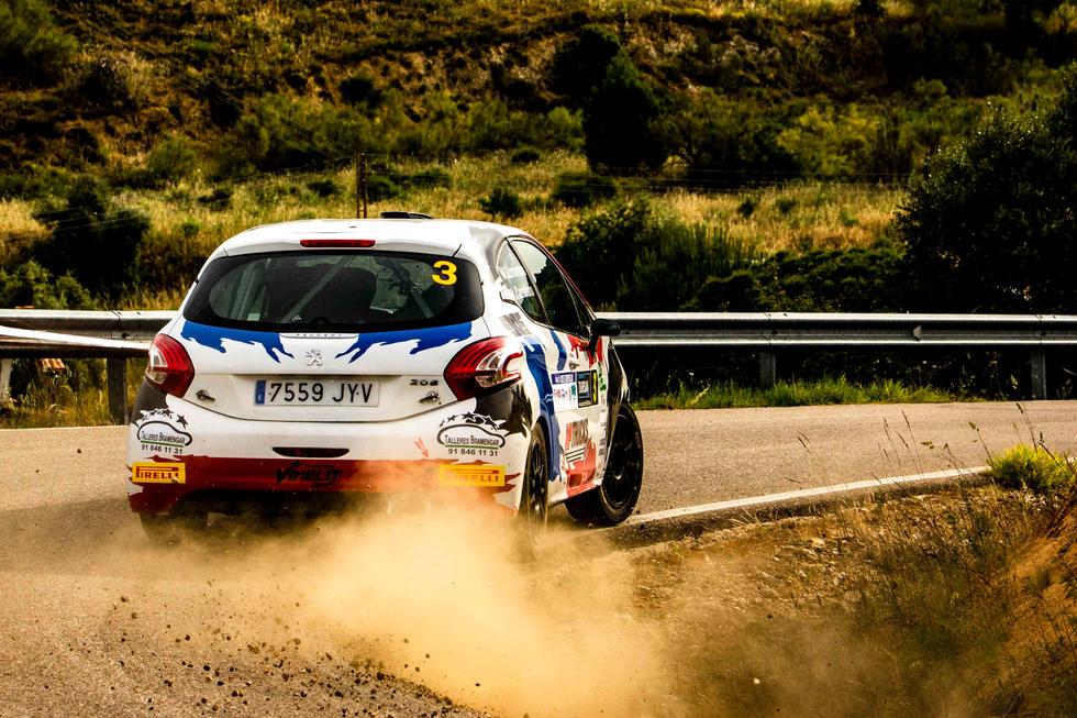 Rallye Madrid-Talavera 2021_#3 Alberto Castellano Rodriguez - Martin Lumbreras Manrique - Peugeot 208 Vti R2, Copa Pirelli Rally Centro