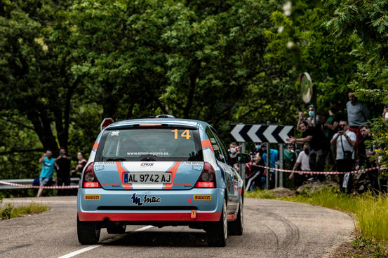 Rallye Madrid-Talavera 2021_#14 Iñaki Echeverria Munguia - Alvaro Castro Baños - Renault Clio Rs 2.0, Copa Pirelli Rally Centro