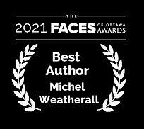 2021 Faces - Best Author - Michel Weathe