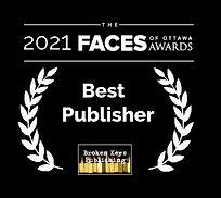 2021 Faces -Best Publisher - Broken Keys