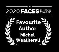 2020 Faces - Favourite Author - Michel W