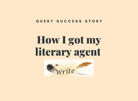 How I Got My Literary Agent – Part One