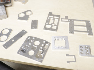 Precise, aerospace grade aluminum components