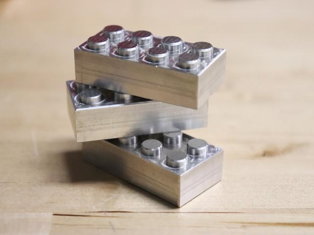 Aluminum LEGO Bricks
