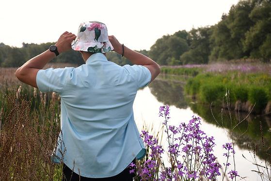 blue shirt bucket hat.jpg