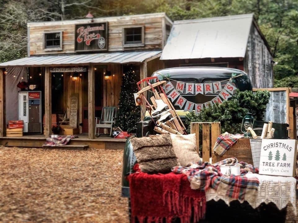 General Store Christmas Set