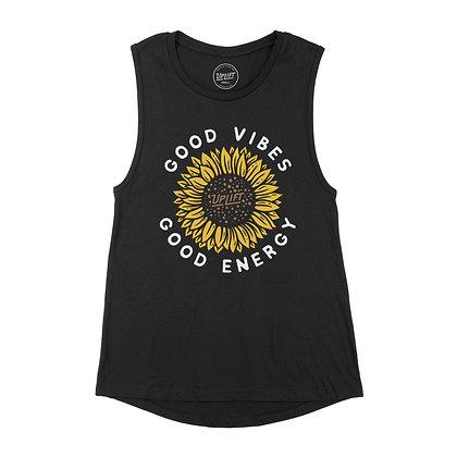 Women's Sunflower Muscle Tank
