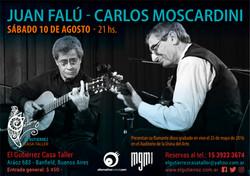 Juan Falu y Carlos Moscardini