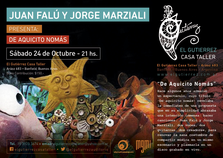 Juan Falú y Jorge Marziali