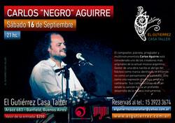 """Carlos """"Negro"""" Aguirre"""